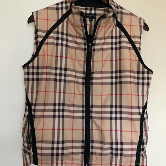 57e3dcdd2acc3 Burberry Jackets   Blazers - Burberry Monogram Golf Vest